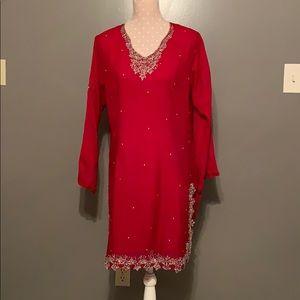 Pakistani /Indian three piece shalwar qameez